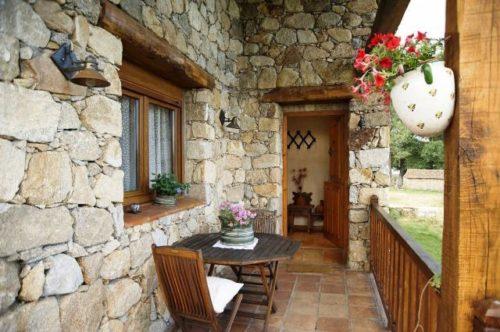 Fachadas rusticas beautiful fachadas de casa rusticas - Entradas de casas rusticas ...