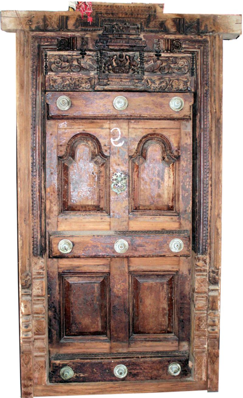 175 puertas de madera para tu casa que te encantar n for Puertas de madera antiguas en cordoba