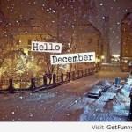 """Imágenes de Hola Diciembre """"Hello December"""" para compartir"""