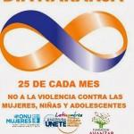 Día Naranja – No a la violencia contra las Mujeres
