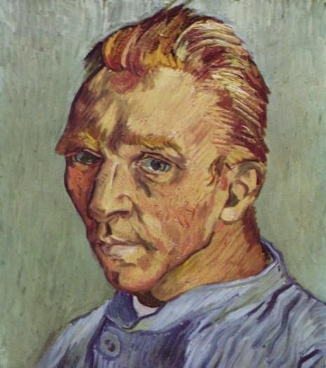 pintura retrato del artista sin barbavincetvan gogh