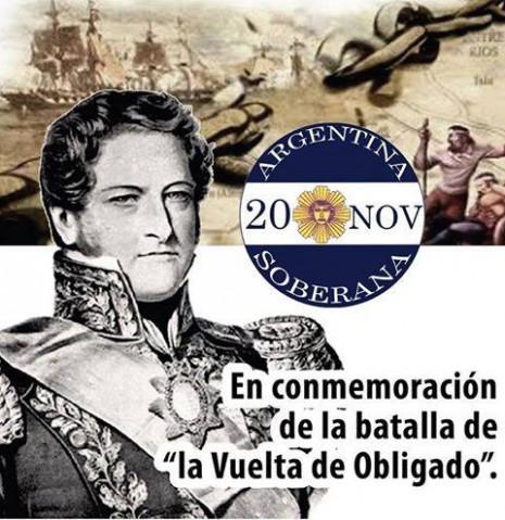 20 De Noviembre Felíz Día De La Soberanía Argentina
