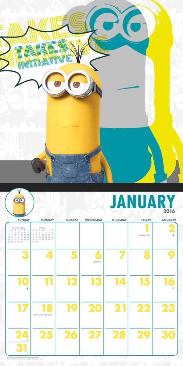 Minions-wall-calendar