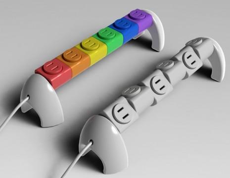 inventoEnchufes Lego con rotación 360°