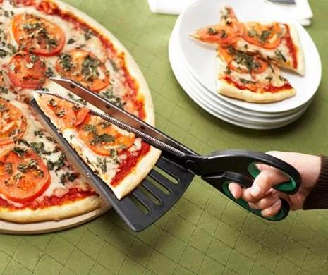 inventoTijeras para pizza