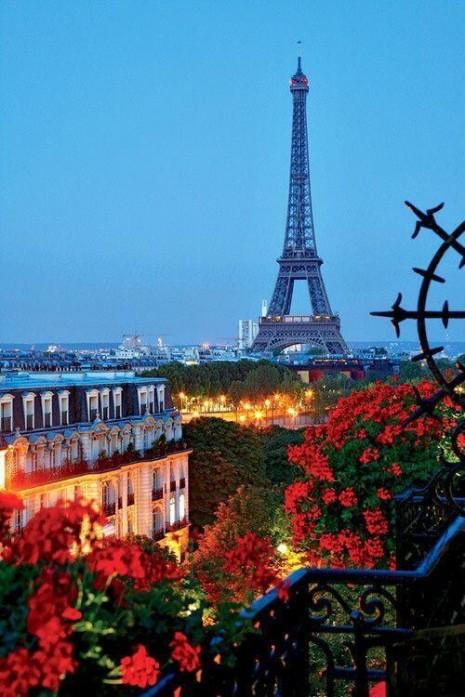 paisajes Torre Eiffel.