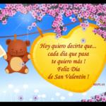 Bonitas tarjetas postales con mensajes de amor para el Día de San Valentín
