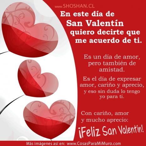 Imágenes De Felíz Día De San Valentín Con Frases Para El 14