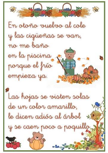 Poemas infantiles de oto o y verano para ni os en im genes for Arboles que no se le caen las hojas en invierno