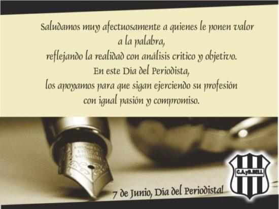 Felíz día del Periodista - frases y mensajes (10)