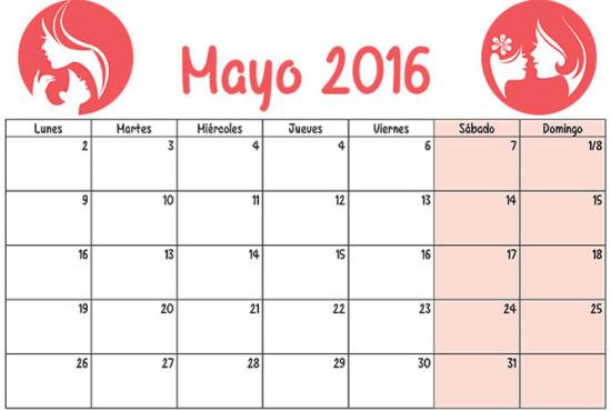 Calendarios 2016 infantiles para descargar (2)