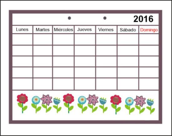 Calendarios 2016 infantiles para descargar (6)