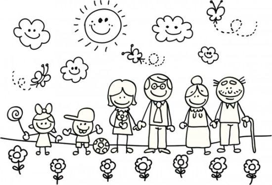 Día del Niño para colorear (2)