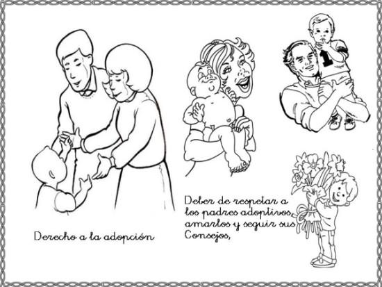 Dia de los derechos Humanos para colorear (5)