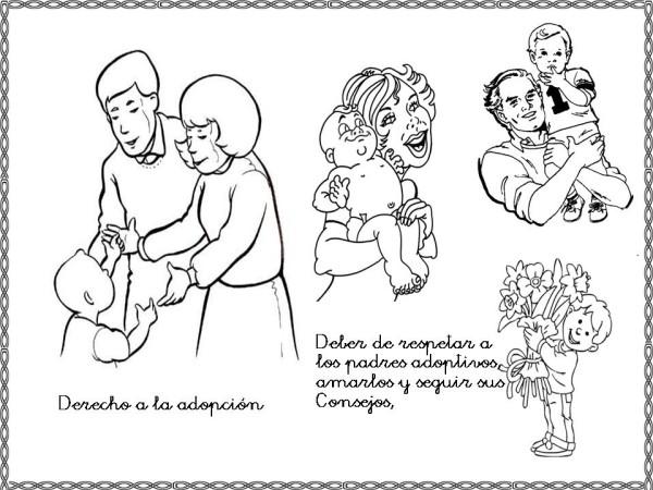 Dibujos del Día Internacional de los Derechos Humanos para Pintar ...