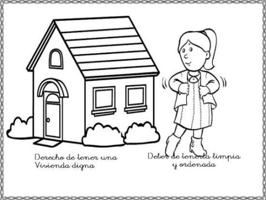 Dibujo de Los derechos Humanos (2)