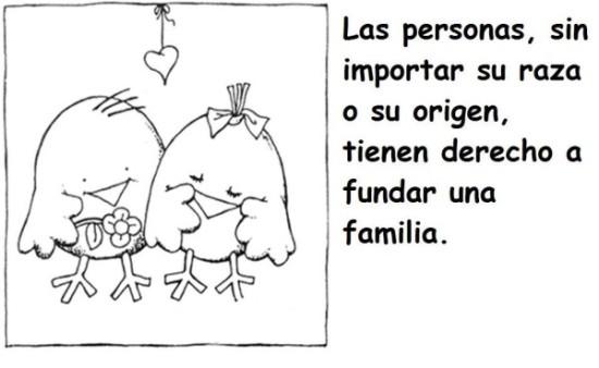 Dibujo de Los derechos Humanos (3)