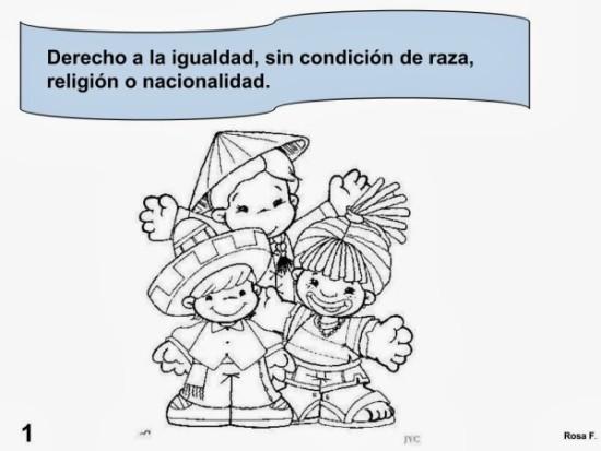 Dibujo de Los derechos Humanos (9)
