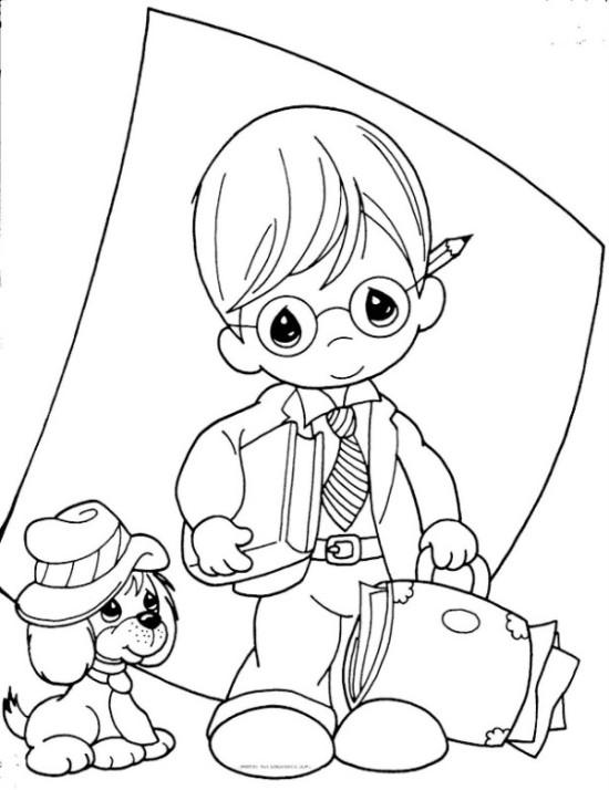 Dibujos dia del Docente para colorear  (10)