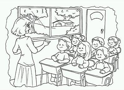 Dibujos dia del Docente para colorear  (2)