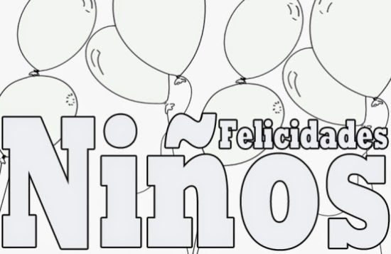 Dibujos infantiles para el Día del Niño (3)