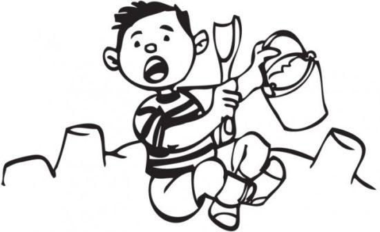 Dibujos para pintar Día del Niño (3)