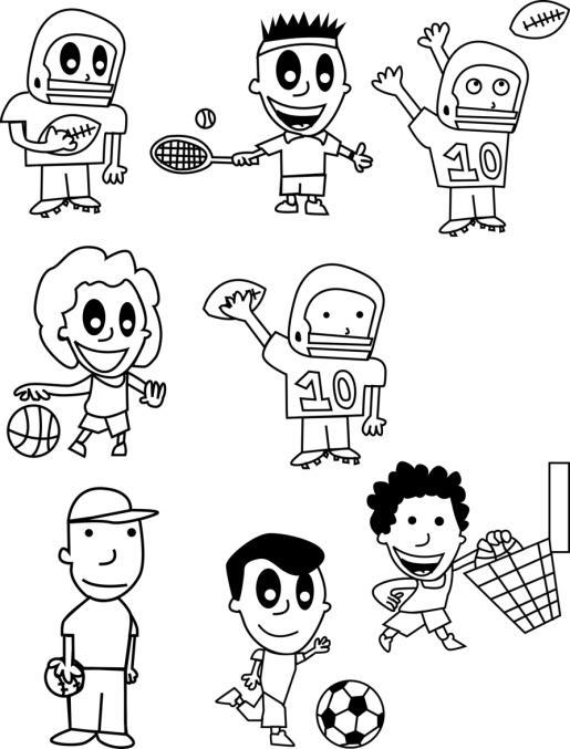 Dibujos para pintar Día del Niño (4)