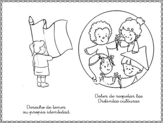 Dibujos para pintar Día del Niño (6)