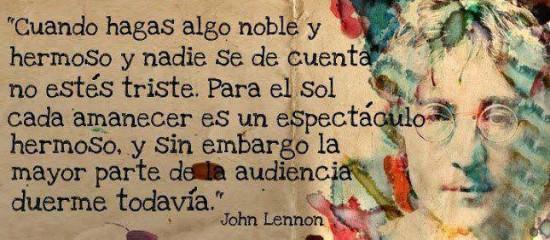 Frases de John Lennon para reflexionar (2)
