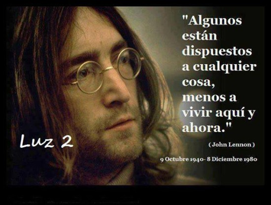 Frases de John Lennon para reflexionar (4)