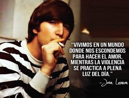 Frases de John Lennon para reflexionar (8)