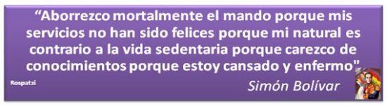 Frases de Simon Bolivar  (1)