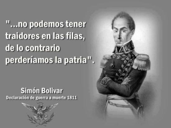 Frases de Simon Bolivar  (11)