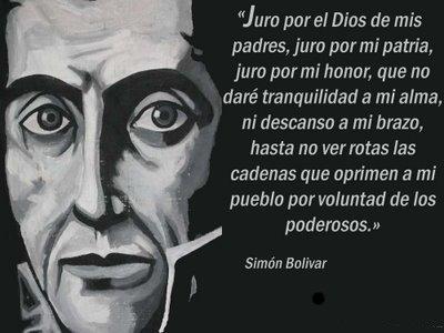 Frases de Simon Bolivar  (14)