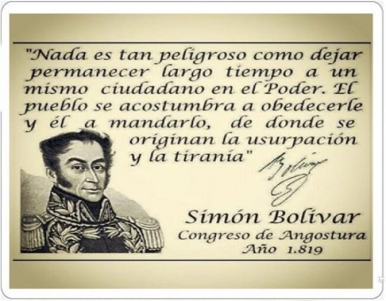 Frases de Simon Bolivar  (15)