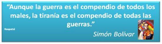 Frases de Simon Bolivar  (2)