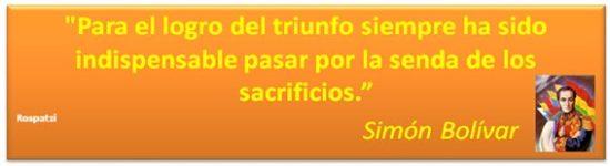 Frases de Simon Bolivar  (3)
