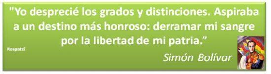 Frases de Simon Bolivar  (4)