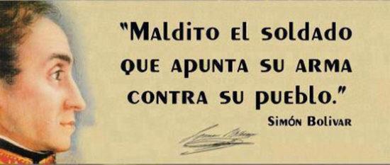 Frases de Simon Bolivar  (5)