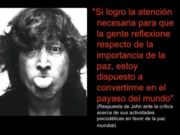 Imágenes De Yoko Ono Y John Lennon Con Frases De Amor Y Paz