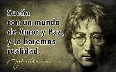 Imagenes De Yoko Ono Y John Lennon Con Frases De Amor Y Paz Para