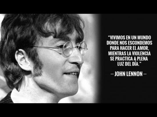 Palabras de John Lennon para pensar (3)