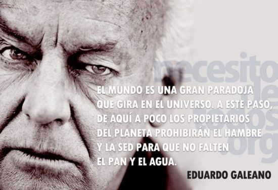Pensamientos de Eduardo Galeano  (12)