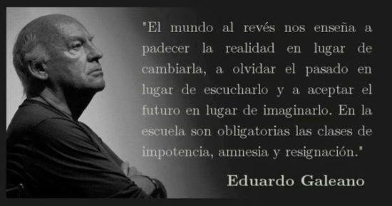 Pensamientos de Eduardo Galeano  (2)