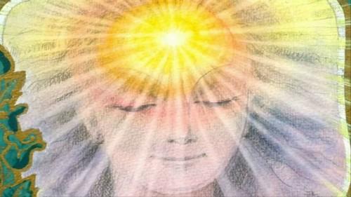 meditacion, reflexion, positivo, energia