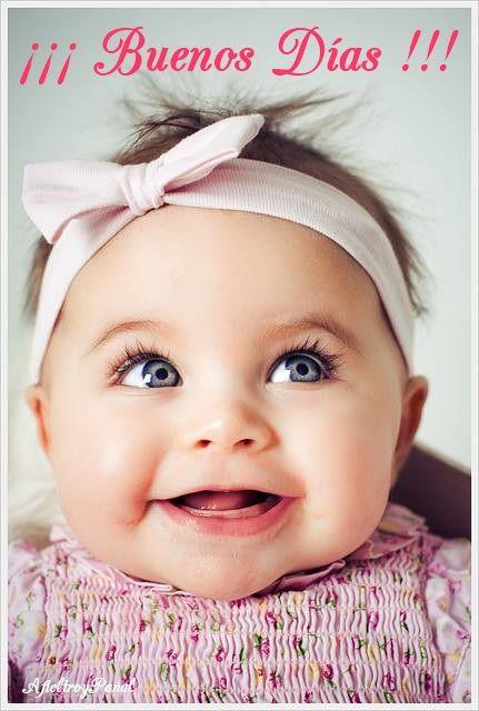 imágenes de Bebes con Frases Feliz Sabado (2)