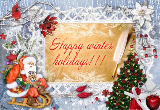 imágenes de Happy Winter con frases (4)