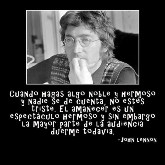 imágenes de John Lennon con frases Celebres (2)