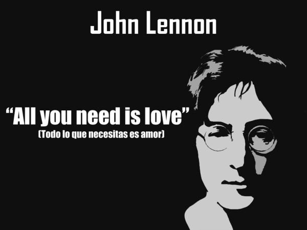 Imágenes con frases de John Lennon grandiosas para ...