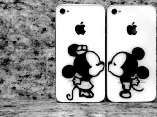 Mickey Mouse y Minnie en Blanco y negro (3)